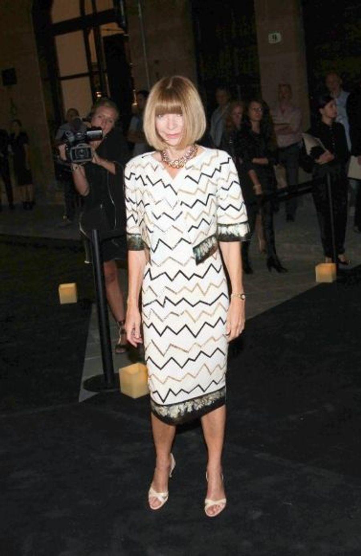 La rédactrice en chef de Vogue, Anna Wintour
