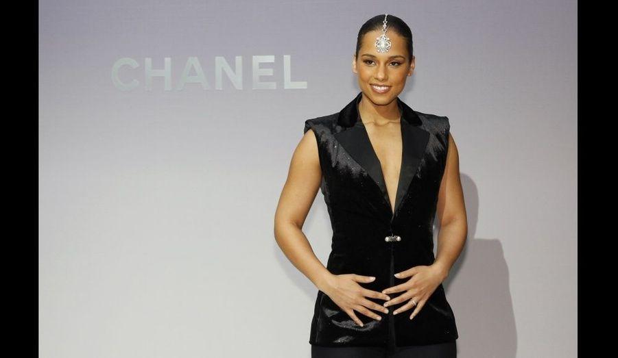 A la présentation Chanel.