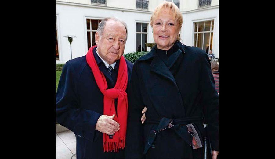 Daniel Tribouillard et son épouse : il a parrainé Jitrois pour son entrée à la Fédération de la couture.