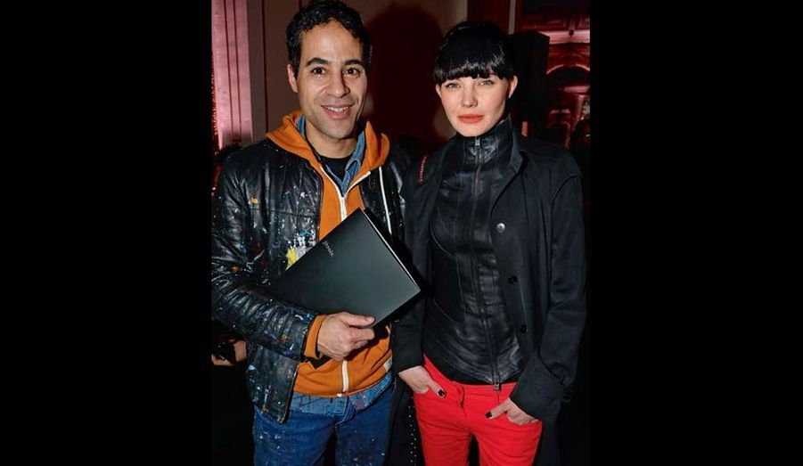 JonOne, maître du street art, et Delphine Chanéac.