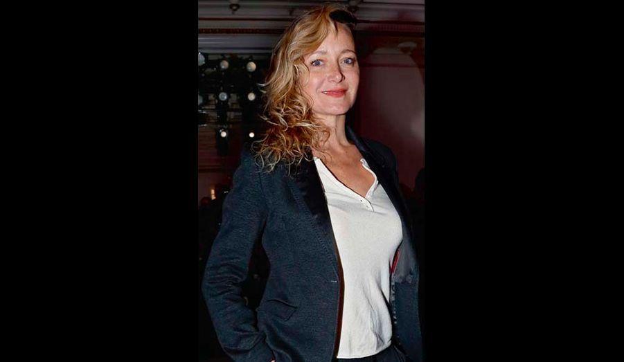 On verra Julie Ferrier dans « La fleur de l'âge » en salle le 1er mai.
