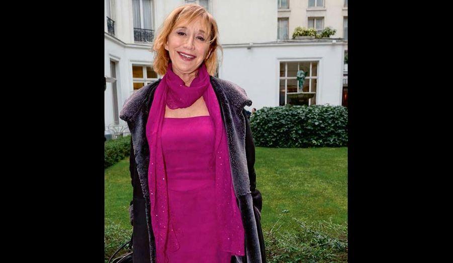 Fan de Jitrois, Marie-Anne Chazel qui reprend « Le bonheur » en avril.