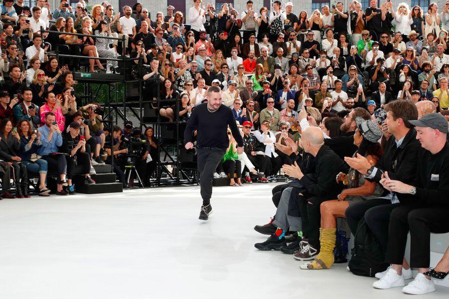 Kim Jones au défilé Dior Homme, printemps-été 2019, 23 juin 2018, Paris