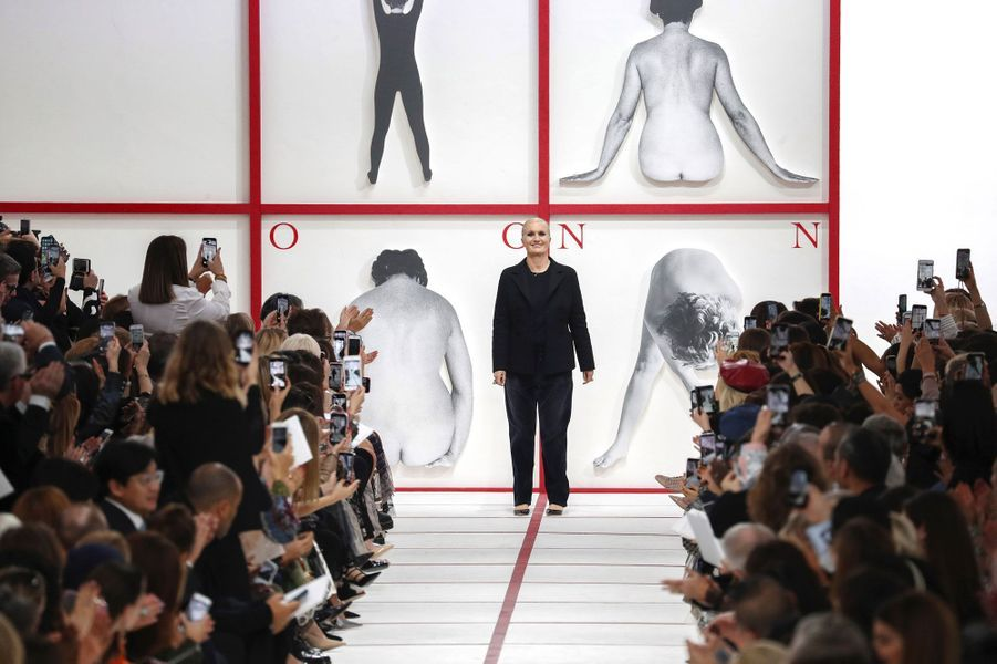 La directrice artistique de Dior, Maria Grazia Chiuri, le 26 février 2019.