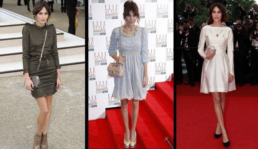 L'animatrice de télé anglaise figure régulièrement aux classements des femmes les mieux habillées du monde.