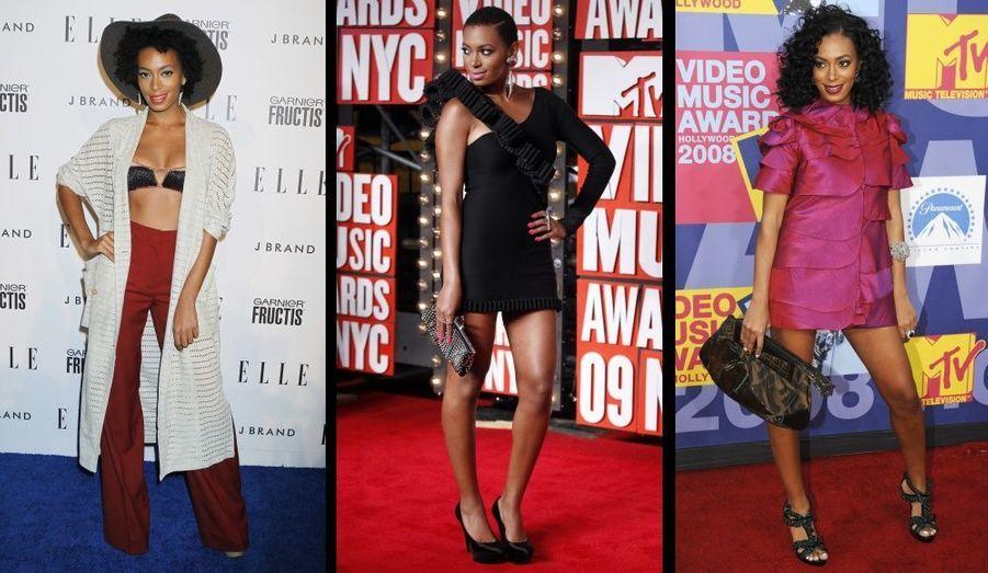 La petite soeur de Beyoncé devance régulièrement son aînée sur le red carpet !