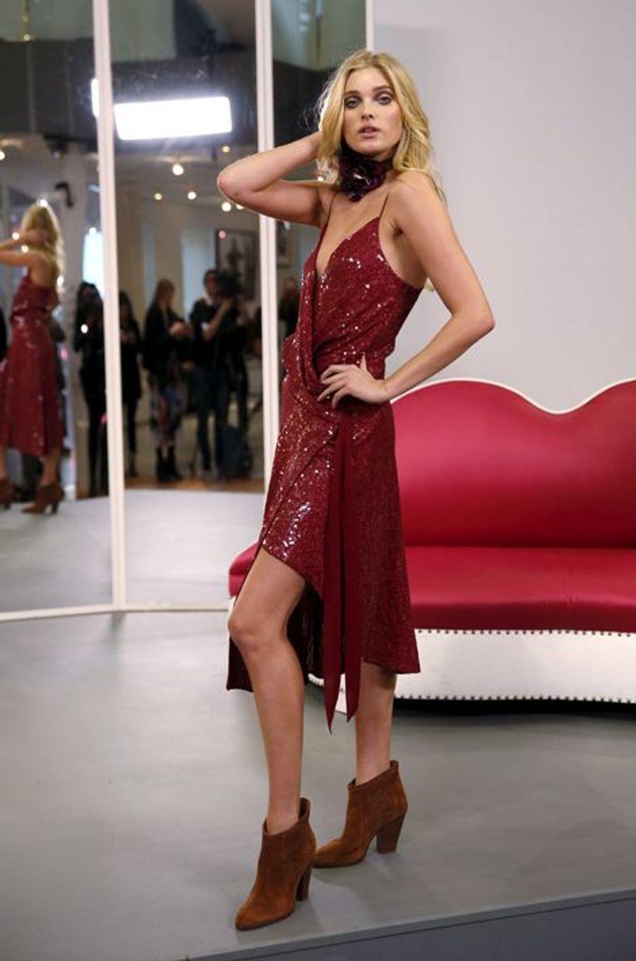 La collection Automne/Hiver de Diane von Furstenberg, présentée à New York