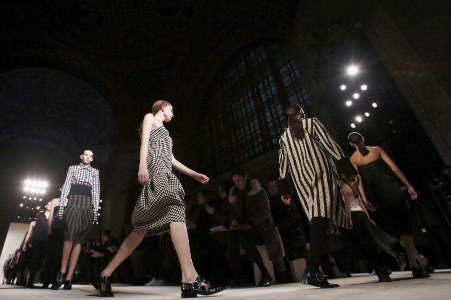 La collection Automne/Hiver de Victoria Beckham, présentée à New York