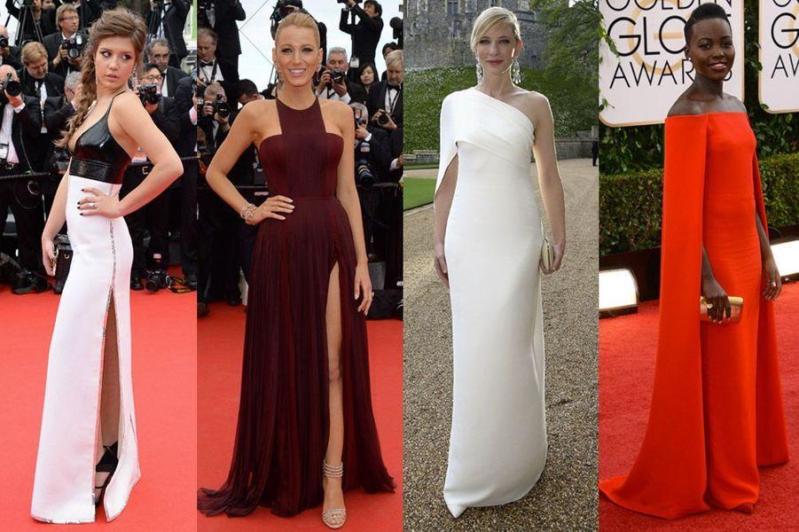 Adèle Exarchopoulos, Blake Lively, Cate Blanchett, Lupita Nyong'o : les plus belles robes de stars en 2014