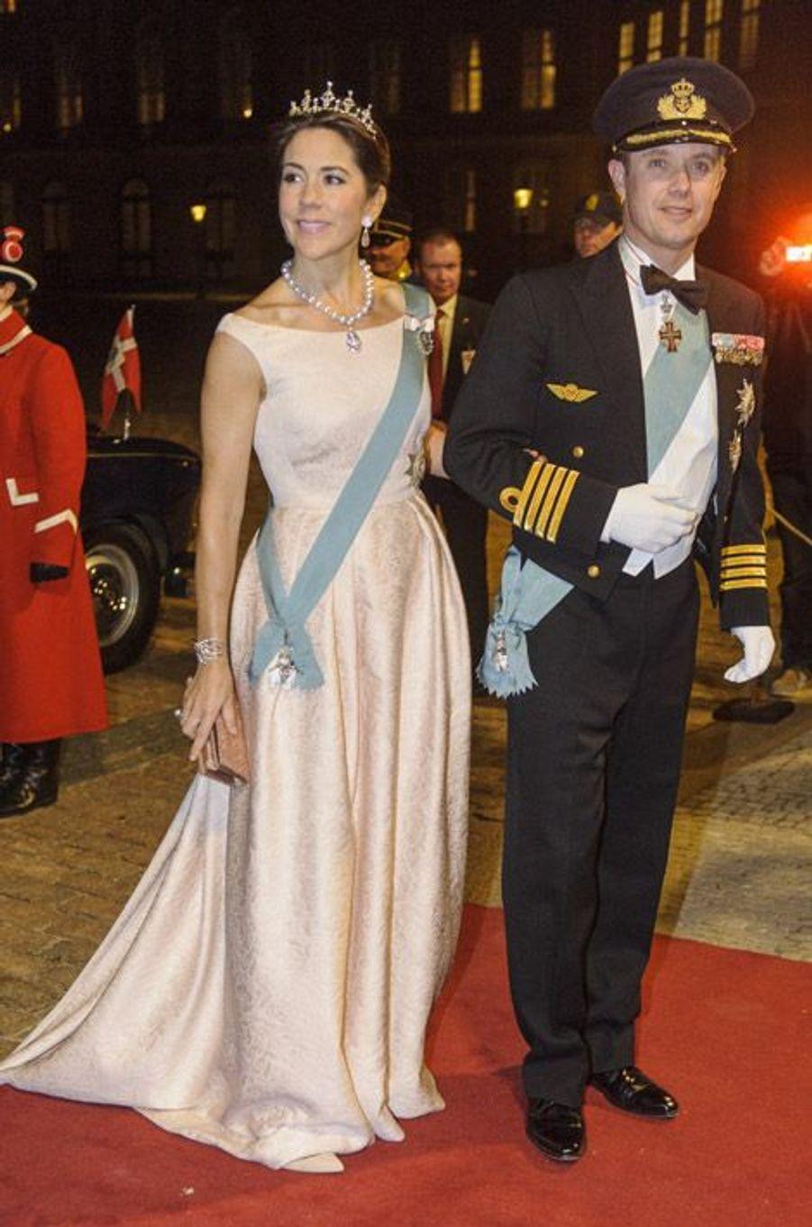 La princesse Mary du Danemark à Copenhague, le 17 mars 2014