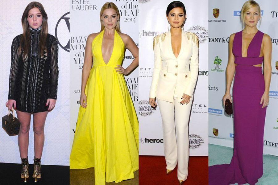 Adèle Exarchopoulos, Margot Robbie, Selena Gomez, Kate Hudson : les plus beaux looks de la semaine