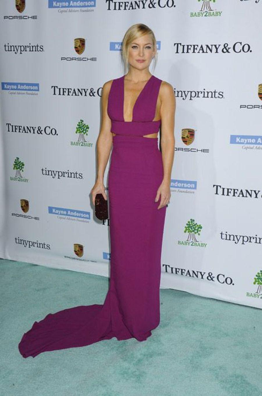 L'actrice Kate Hudson au gala Baby2Baby en Californie, le 8 novembre 2014