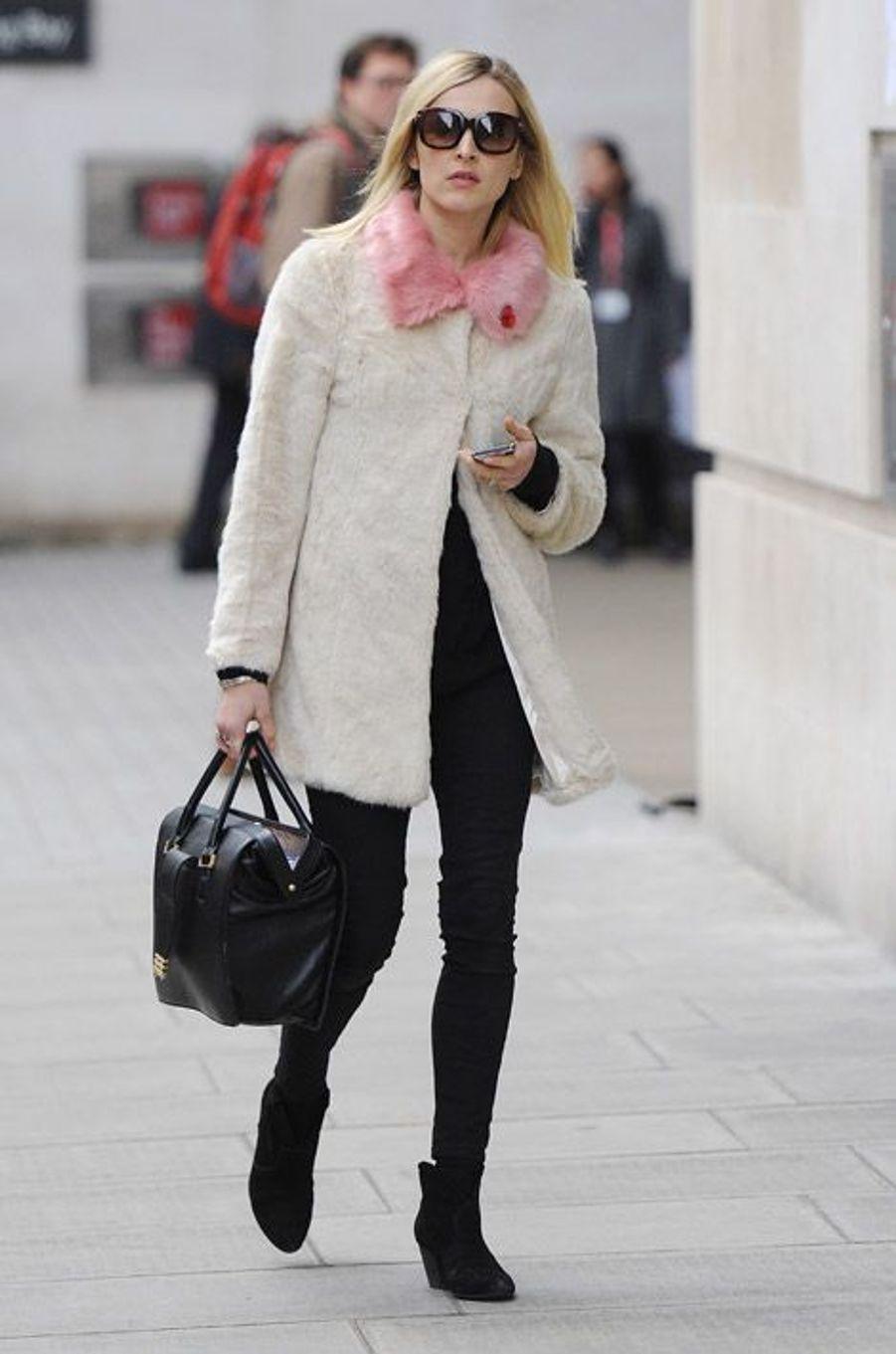 La journaliste et i-girl anglaise Fearne Cotton à Londres, le 7 novembre 2014