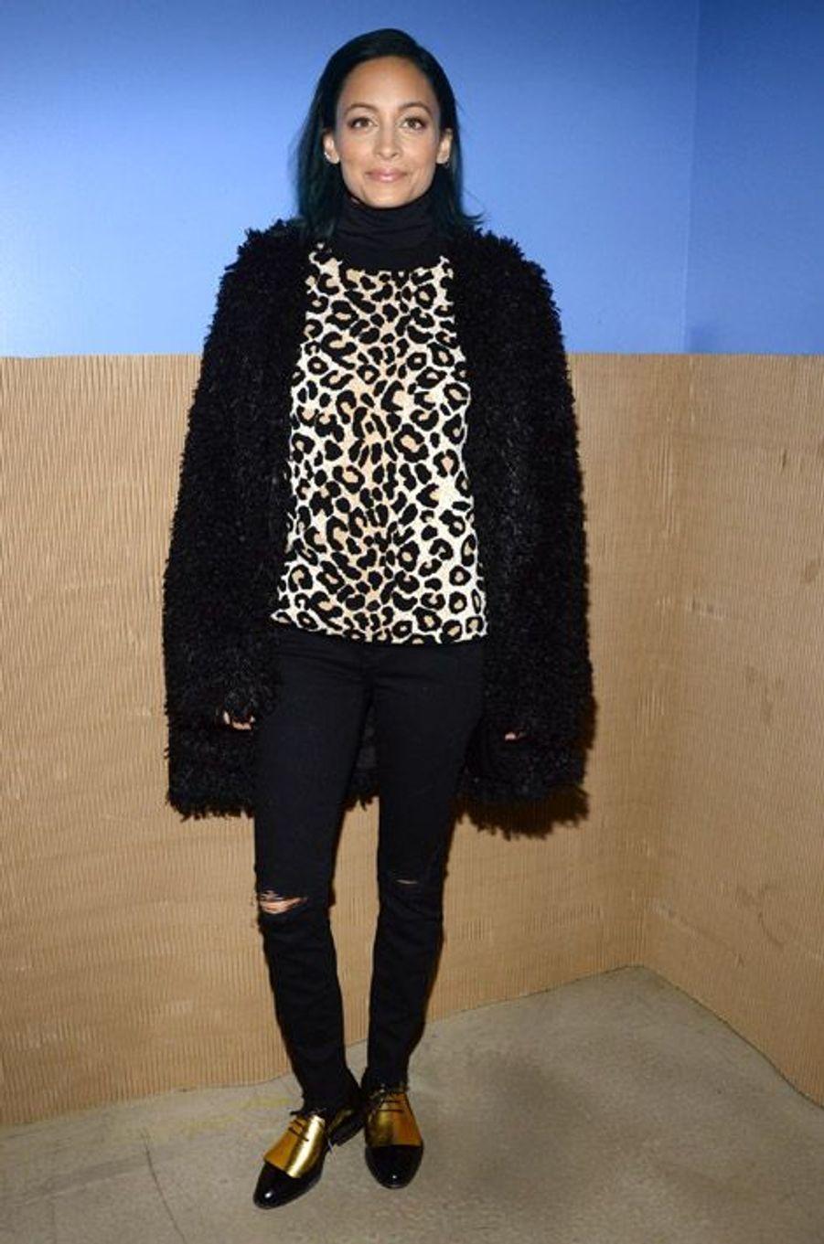 La styliste américaine Nicole Richie à New York, le 12 novembre 2014