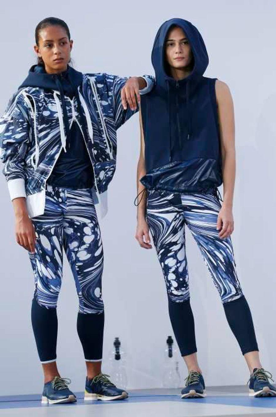 Adidas by Stella MCartney: défilé synchronisé