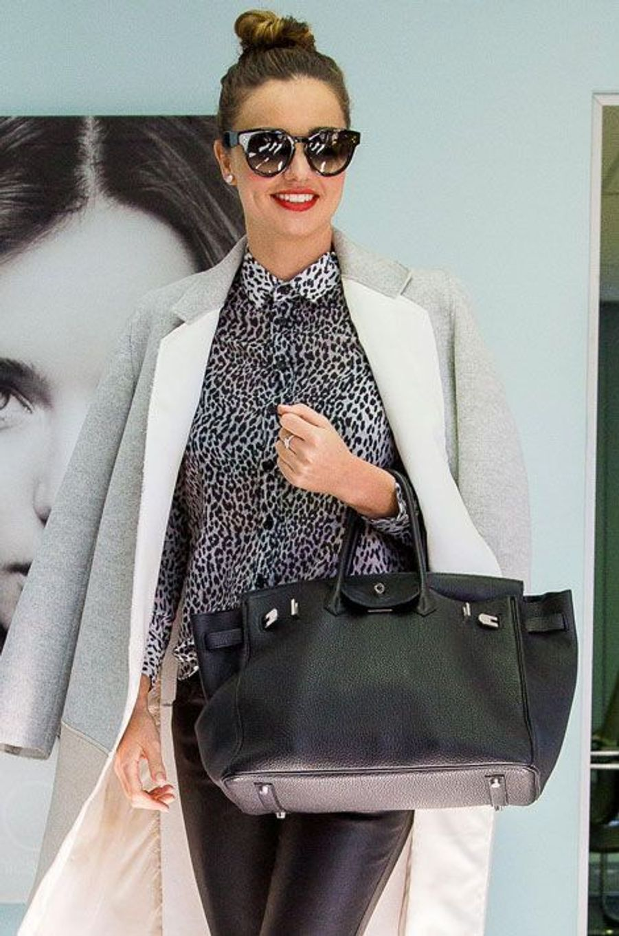 Les imprimés : le mannequin Miranda Kerr en mai 2014, en Australie