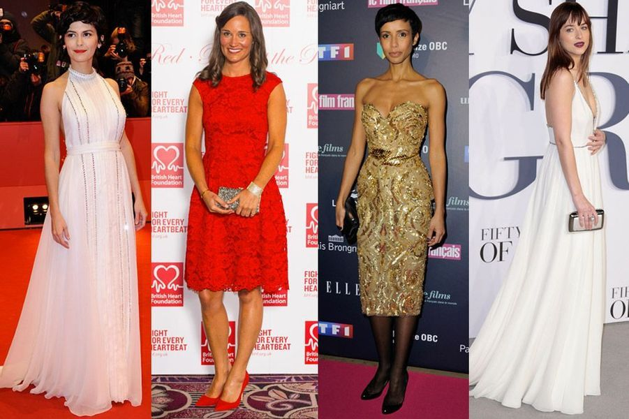 Audrey Tautou, Pippa Middleton, Sonia Rolland, Dakota Johnson : les plus beaux looks de la semaine du 8 au 14 février 2015