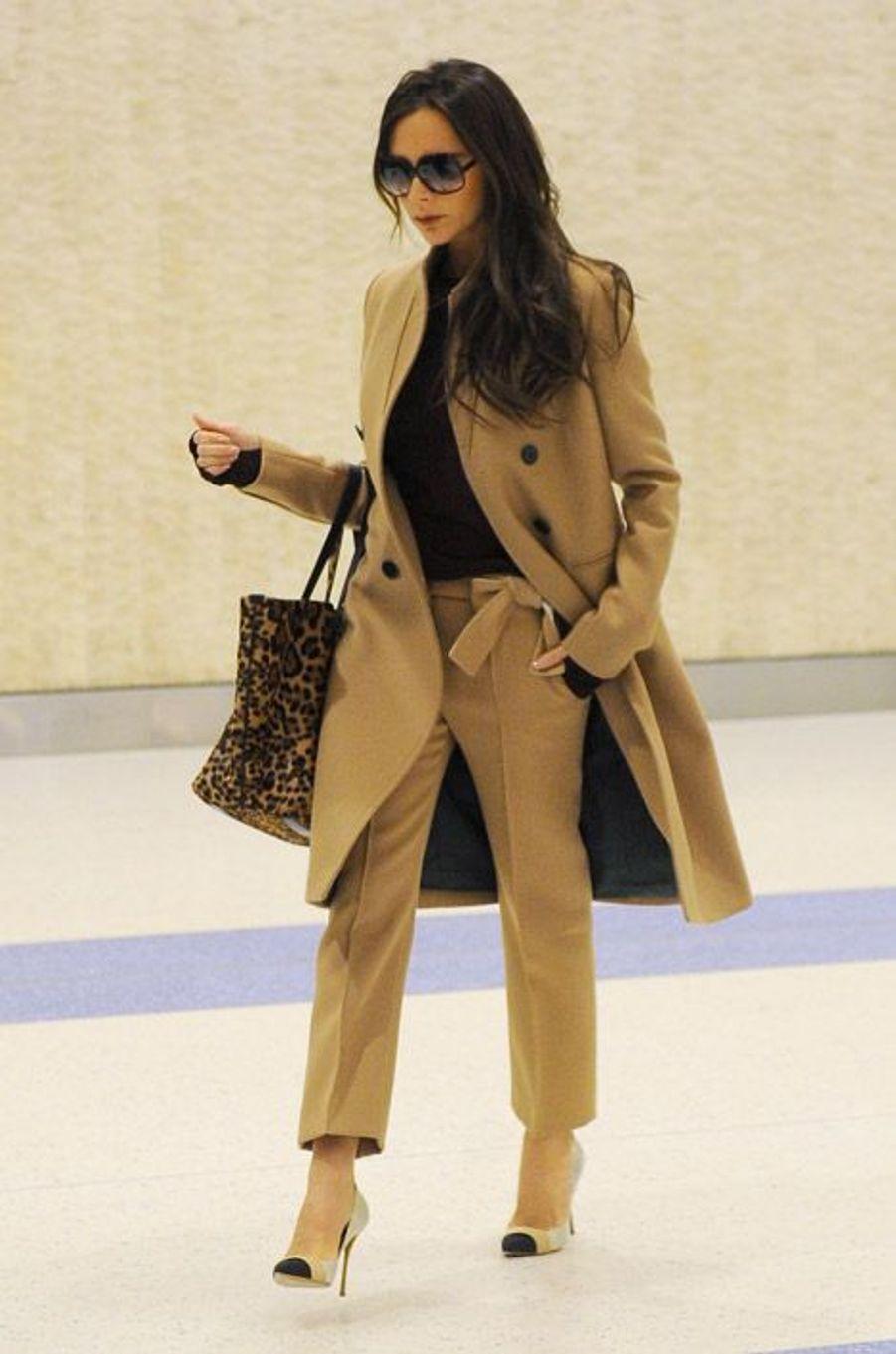 Victoria Beckham à New York, le 9 février 2015