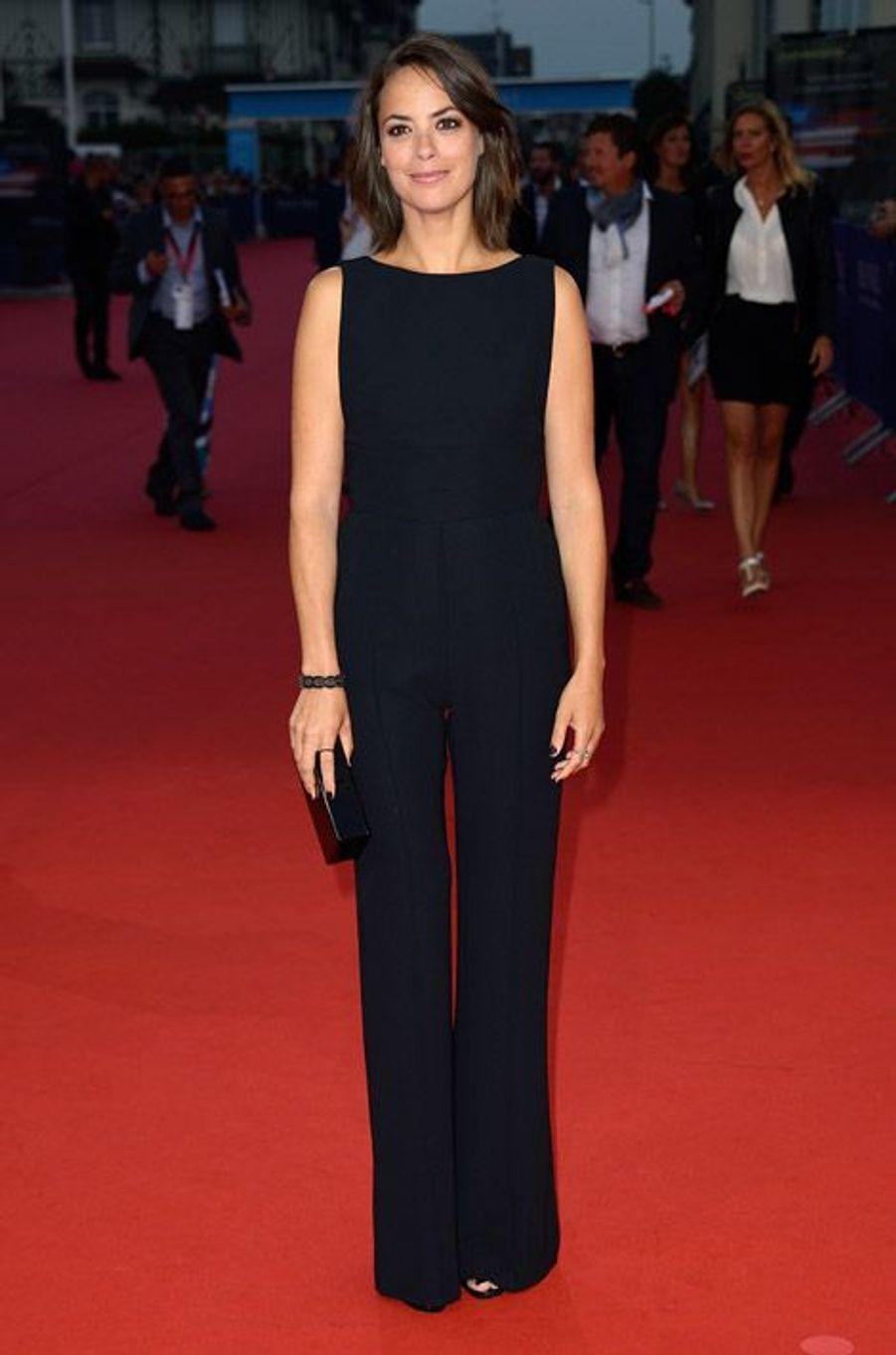 """Bérénice Béjo assiste à la projection du film """"Les Recettes du bonheur"""" pendant le festival de Deauville, le 6 septembre 2014"""