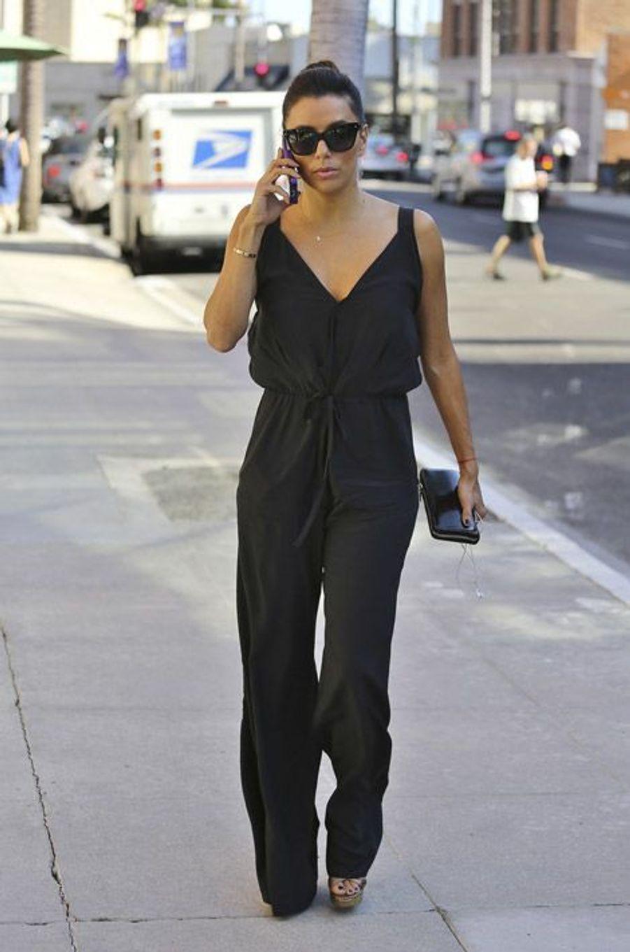 L'actrice et productrice Eva Longoria le 11 septembre 2014 à Los Angeles