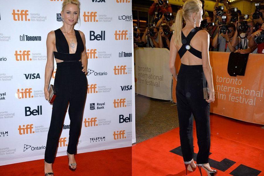 """L'actrice Naomi Watts en Stella McCartney assiste à la projection du film """"St Vincent"""", lors du festival de Toronto, le 5 septembre 2014"""