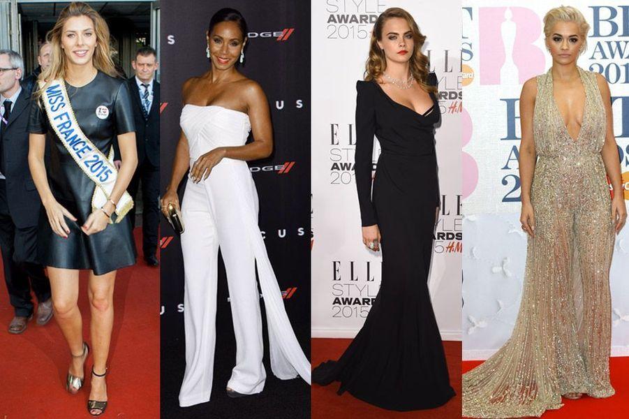 Camille Cerf, Cara Delevingne, Jada Pinkett Smith, Rita Ora : les plus beaux looks de la semaine