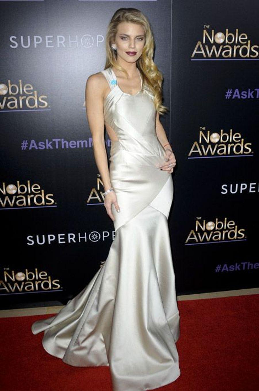 L'actrice AnnaLynne McCord, lors de la cérémonie des Noble Awards à Beverly Hills, le 27 février 2015