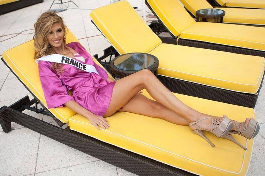Camille Cerf partage des photos de ses préparatifs pour Miss Univers