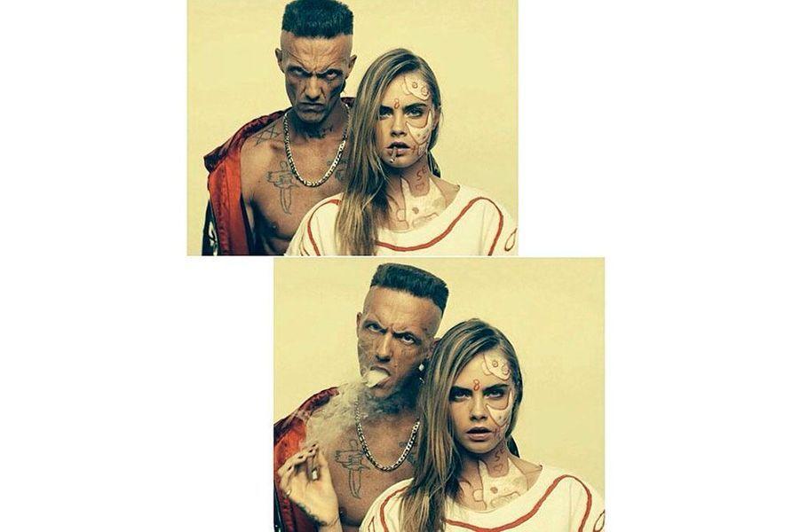 Elle participe au clip du groupe Die Antwoord, «Ugly Boy».