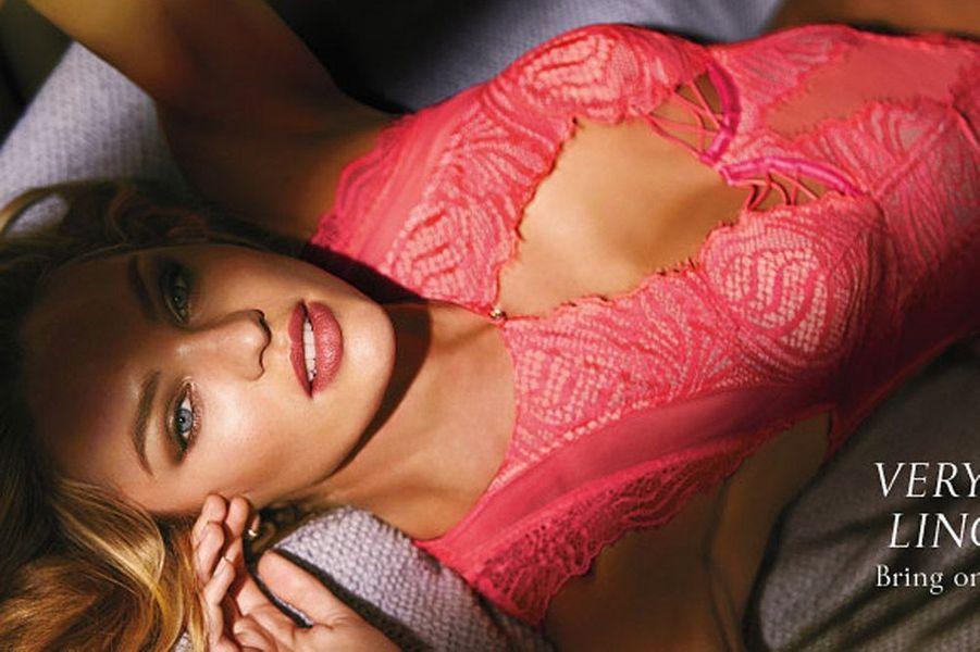 Candice Swanapoel pour Victoria's Secret
