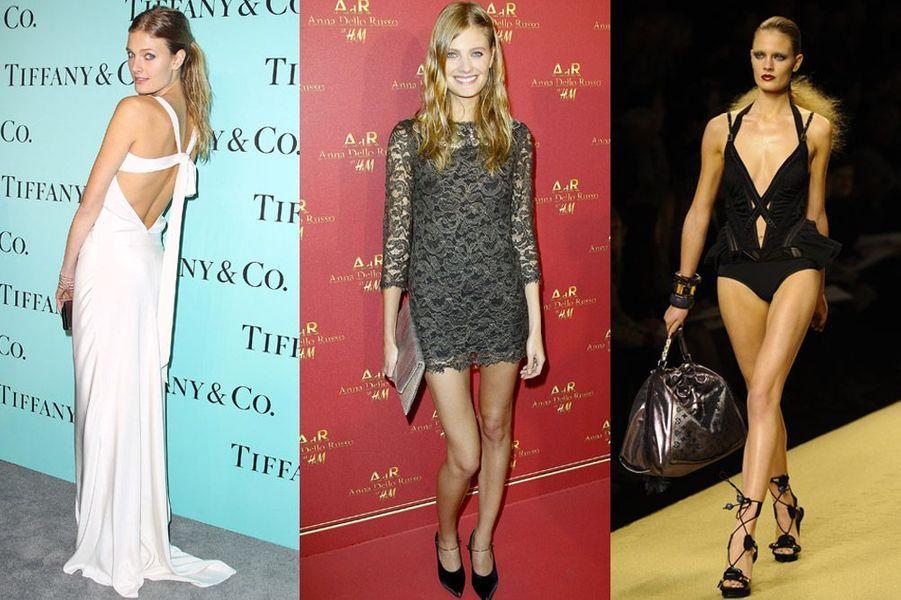 Constance jablonski, 23 ans, elle a défilé pour Paul Smith et Victoria's Secret et apparaît dans les campganes Dolce & Gabbana, Hermès, Estée L...