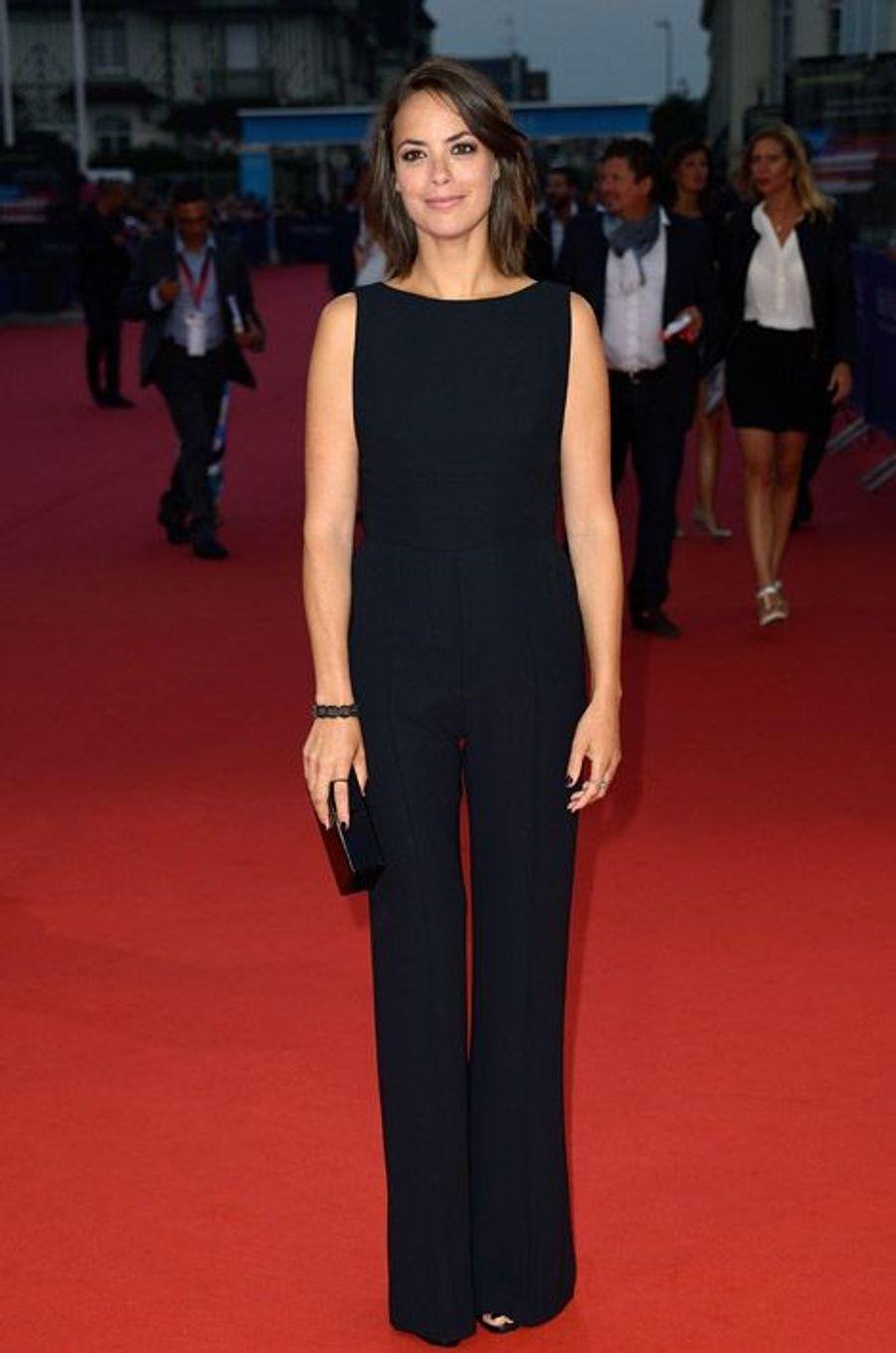 La combinaison : Bérénice Bejo lors du Festival de Deauville, le 6 septembre 2014