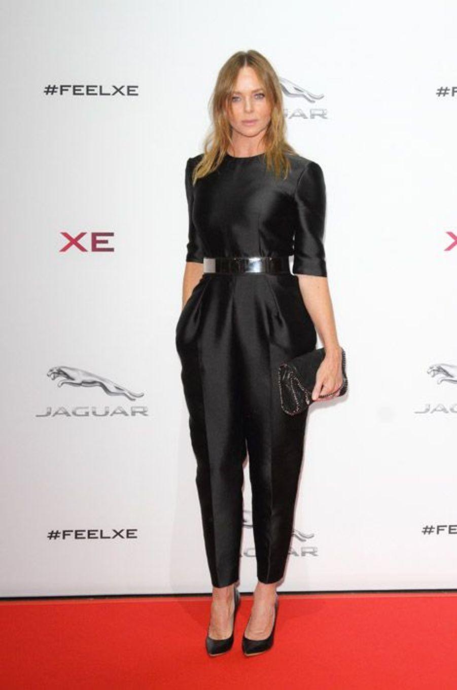 La combinaison: la styliste Stella McCartney à Londres, le 8 septembre 2014
