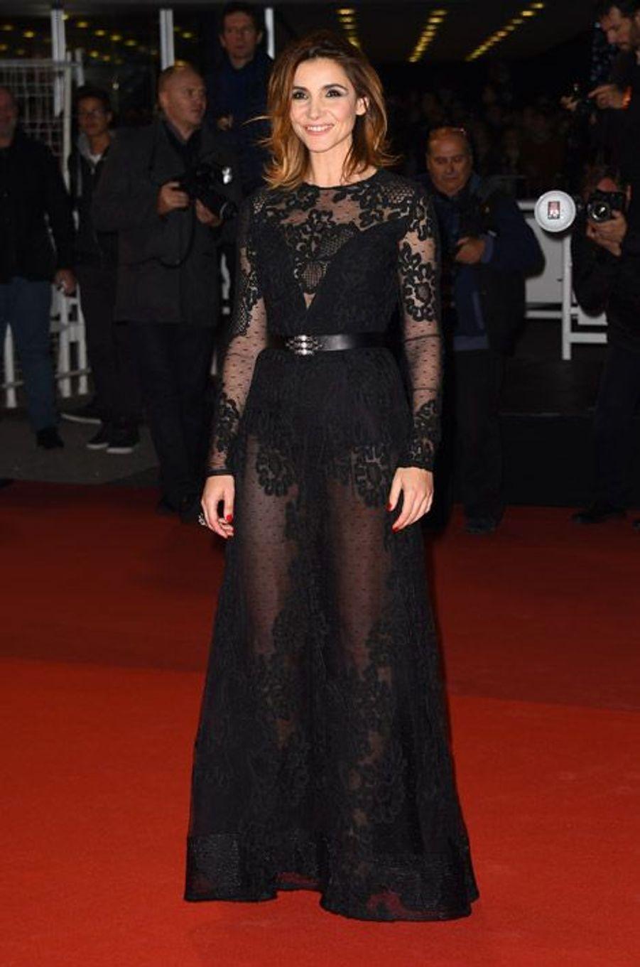 Transparence : Clotilde Courau lors des NRJ Music Awards à Cannes, le 13 décembre 2014