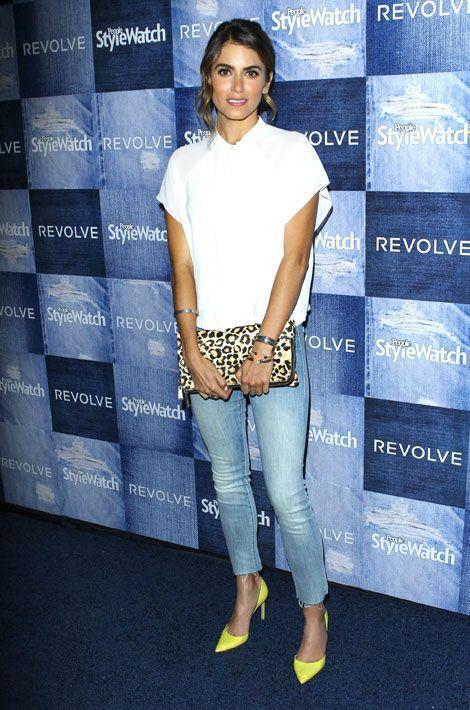 Le léopard par petites touches : l'actrice Nikki Reed, révélée par la saga Twilight, lors d'une soirée organisée à Los Angeles, le 18 septemb...