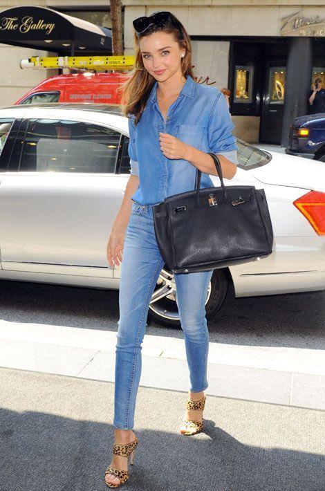 Le léopard par petites touches : le top model australien Miranda Kerr, à New York, le 21 juillet 2014