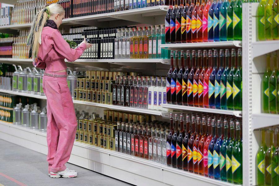 Chanel s'encanaille au supermarché