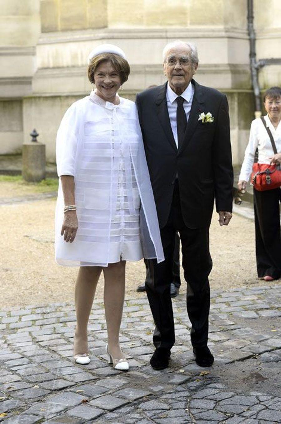 L'actrice Macha Méril et le compositeur Michel Legrand se sont mariés à Paris, le 18 septembre 2014