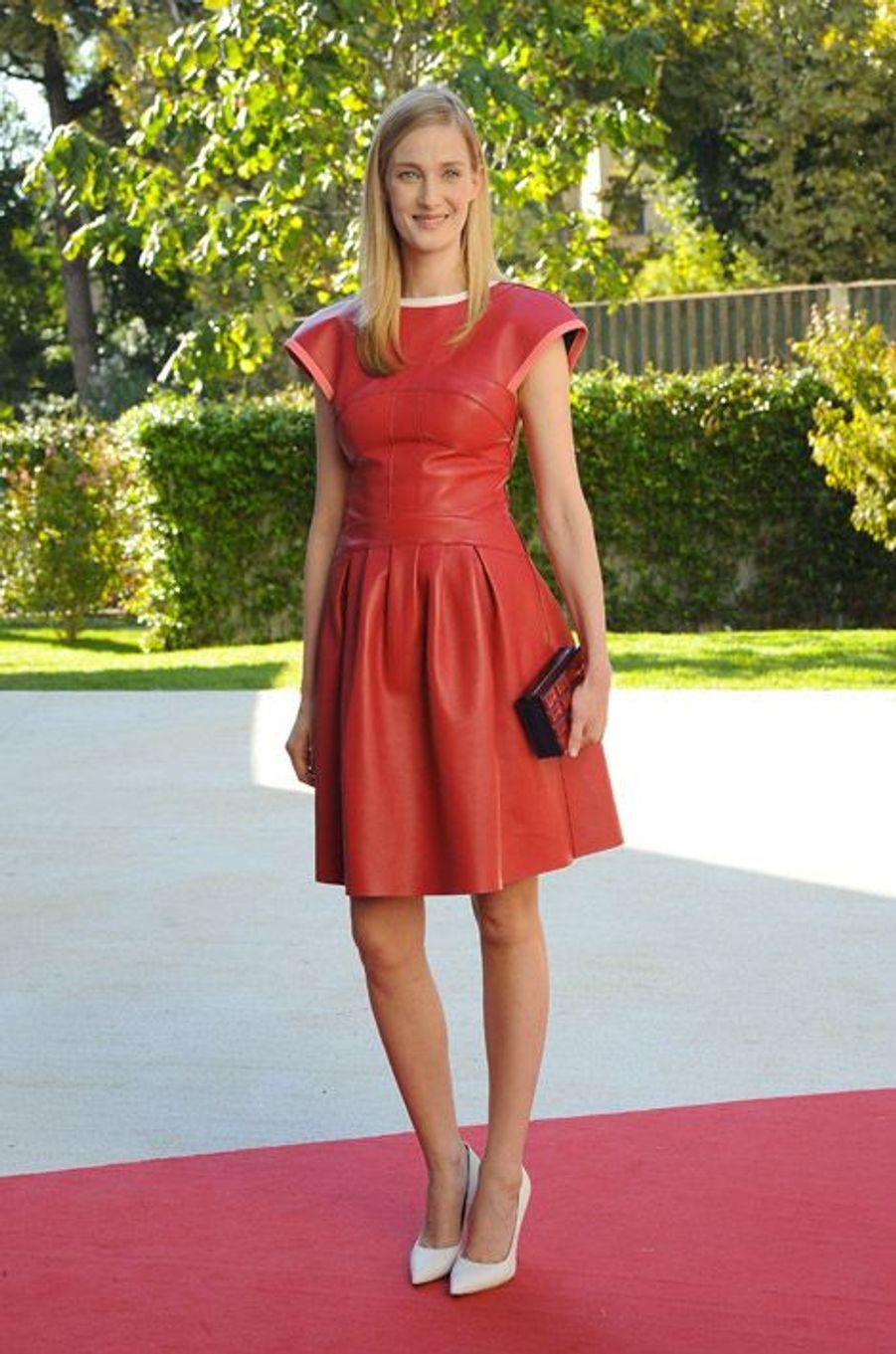 L'actrice italienne Eva Riccobono au festival du film de Venise, le 29 août 2014