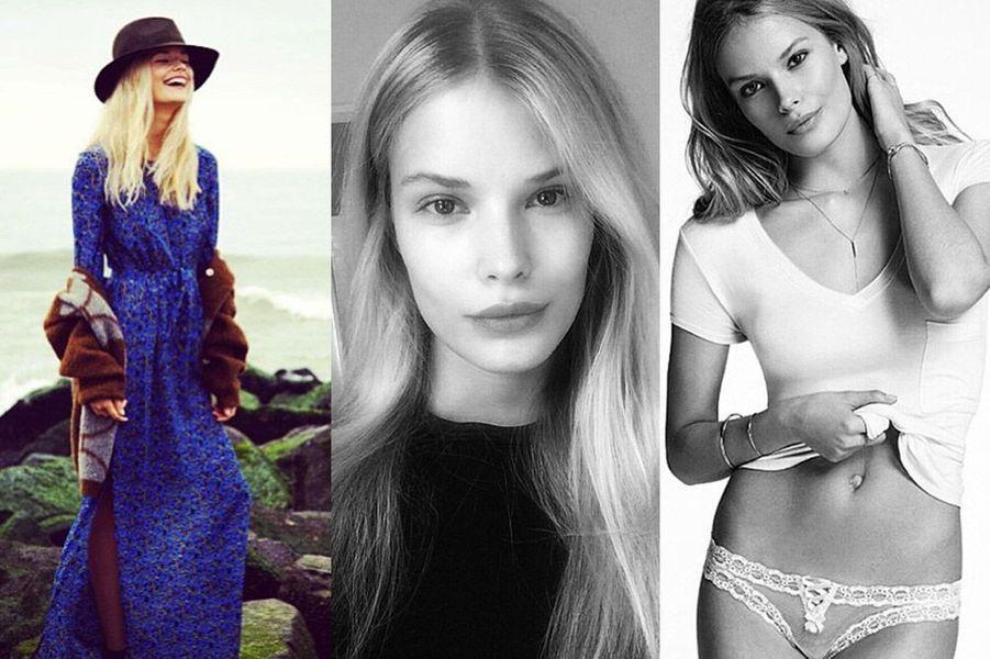 Alena Blohm, 20 ans, a posé pour Max Mara, Benetton, Dessange, Polo Ralph Lauren
