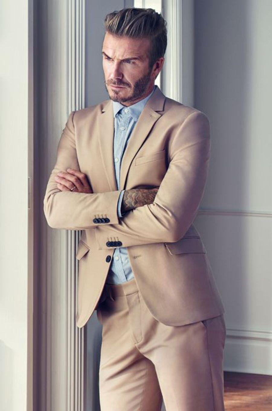 David Beckham se dévoile dans la nouvelle campagne H&M