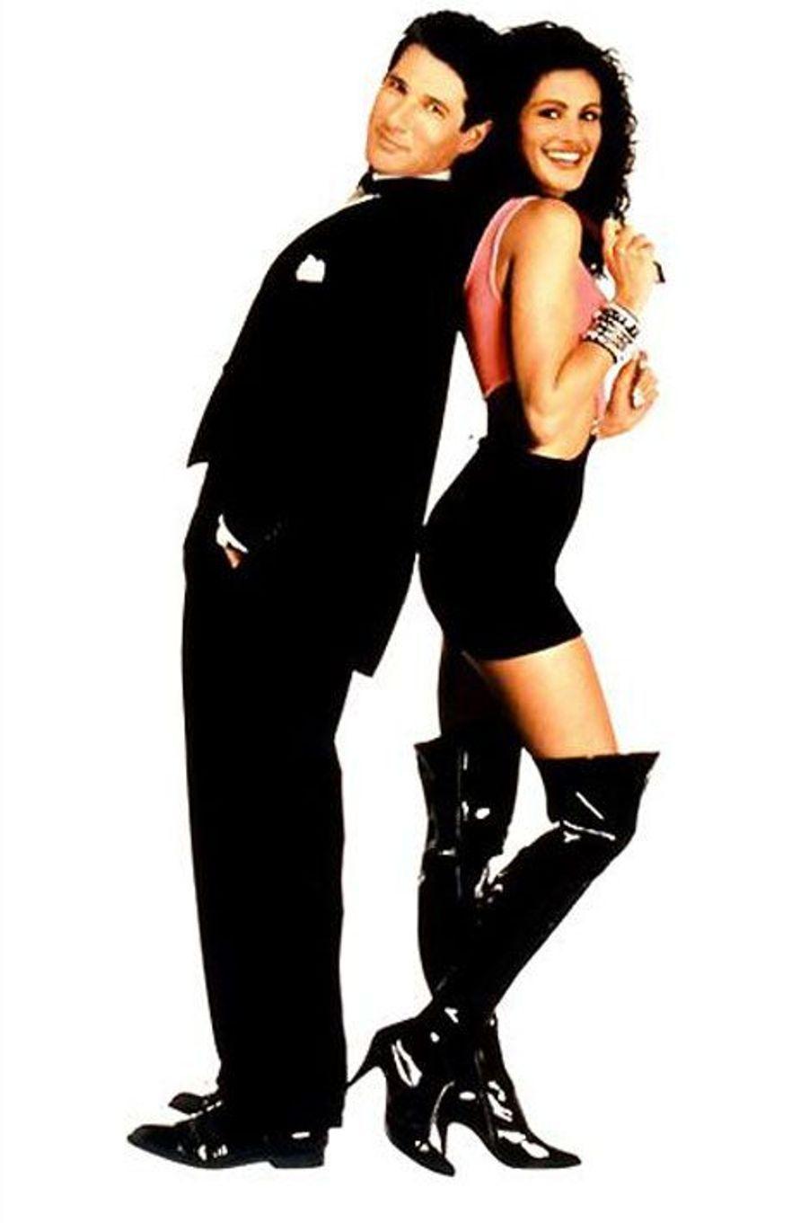 "Julia Roberts et Richard Gere dans ""Pretty Woman"" en 1990"