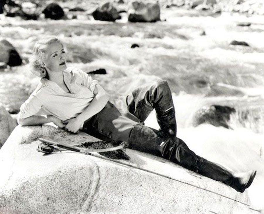 L'actric américaine Bette Davis en 1950