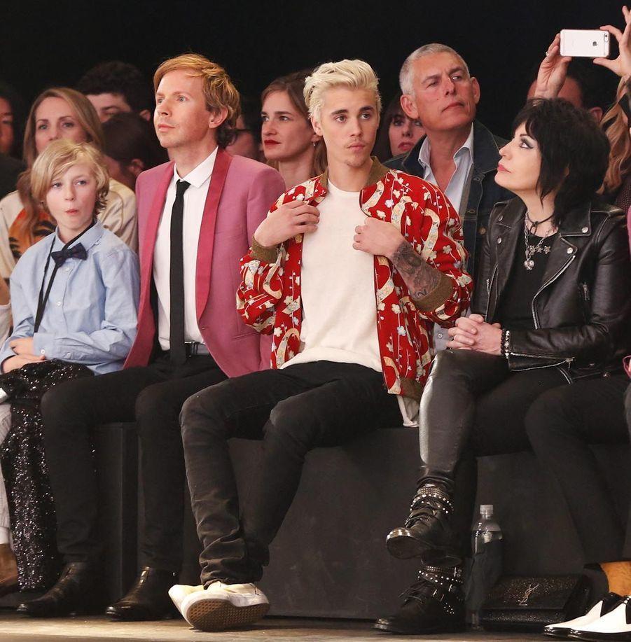 Justin Bieber et Joan Jett