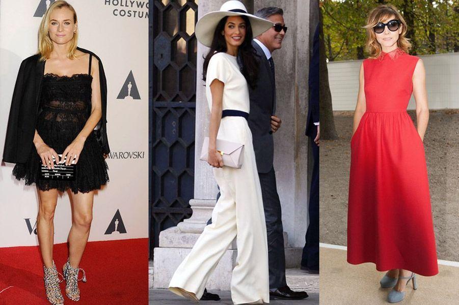 Diane Kruger, Amal Alamuddin, Clotilde Courau : les plus beaux looks de la semaine