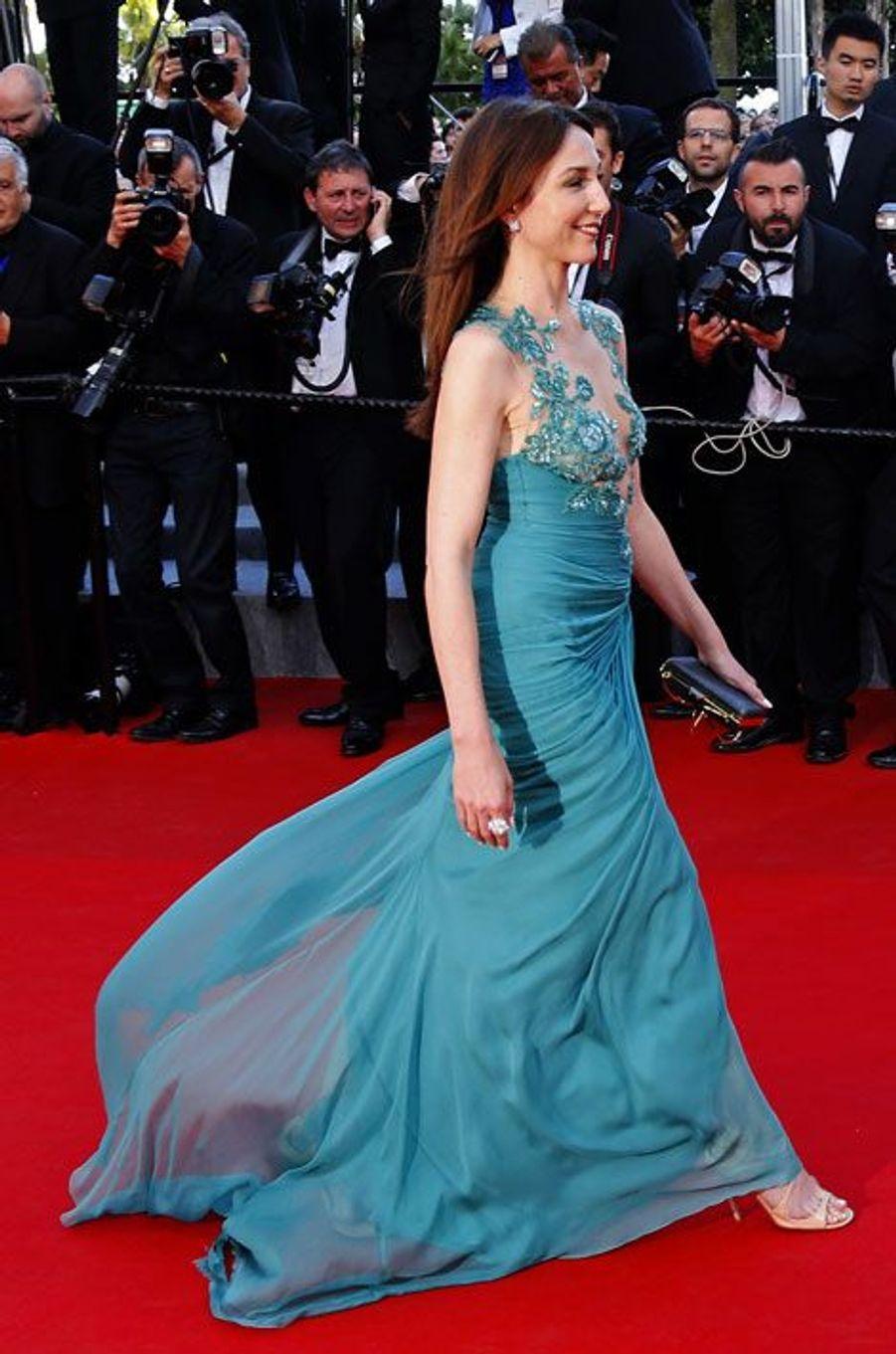 Elsa Zylberstein au dernier festival de Cannes