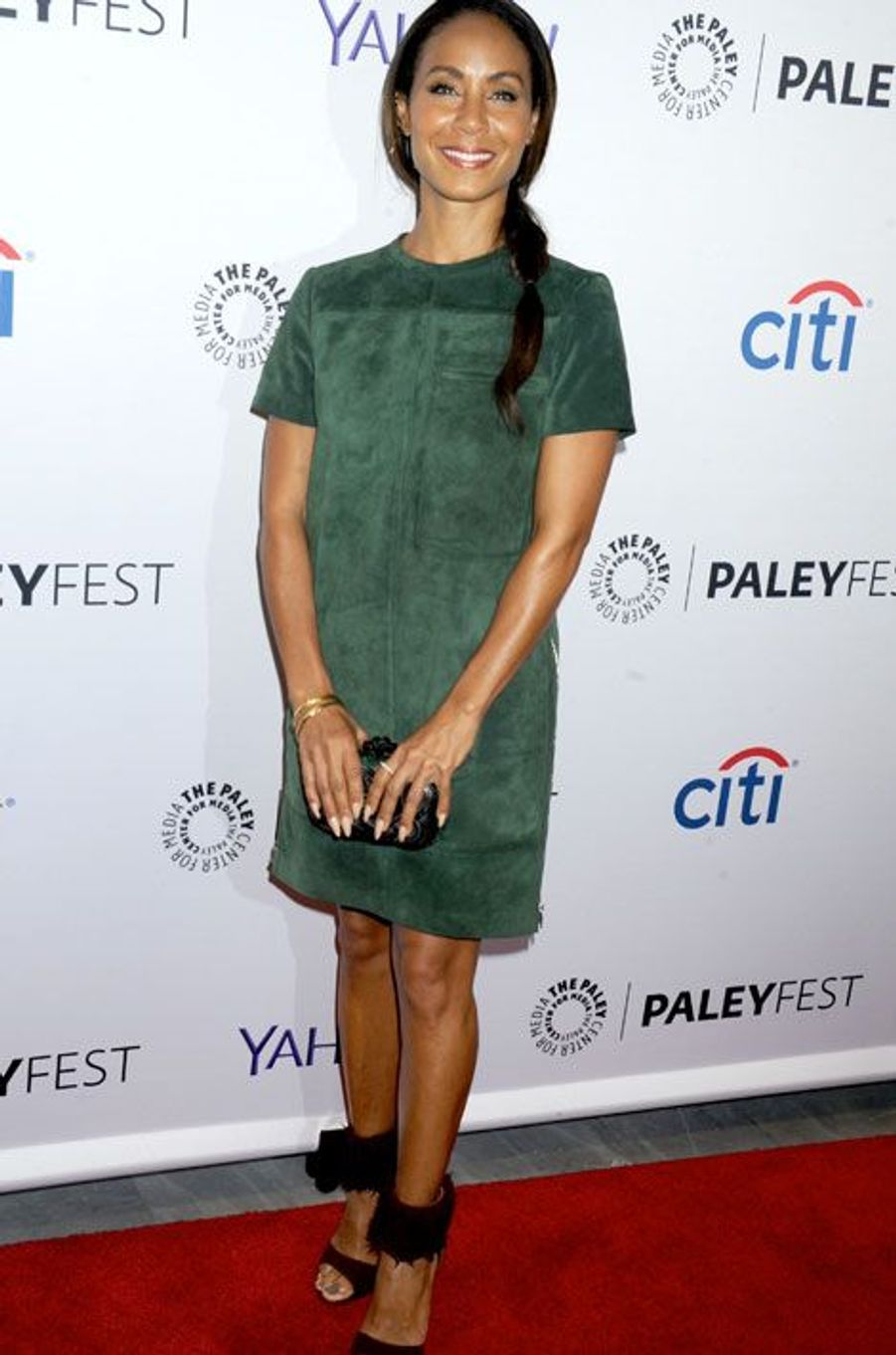 La femme de Will Smith, Jada Pinkett Smith, lors d'une soirée à New York, le 18 octobre 2014