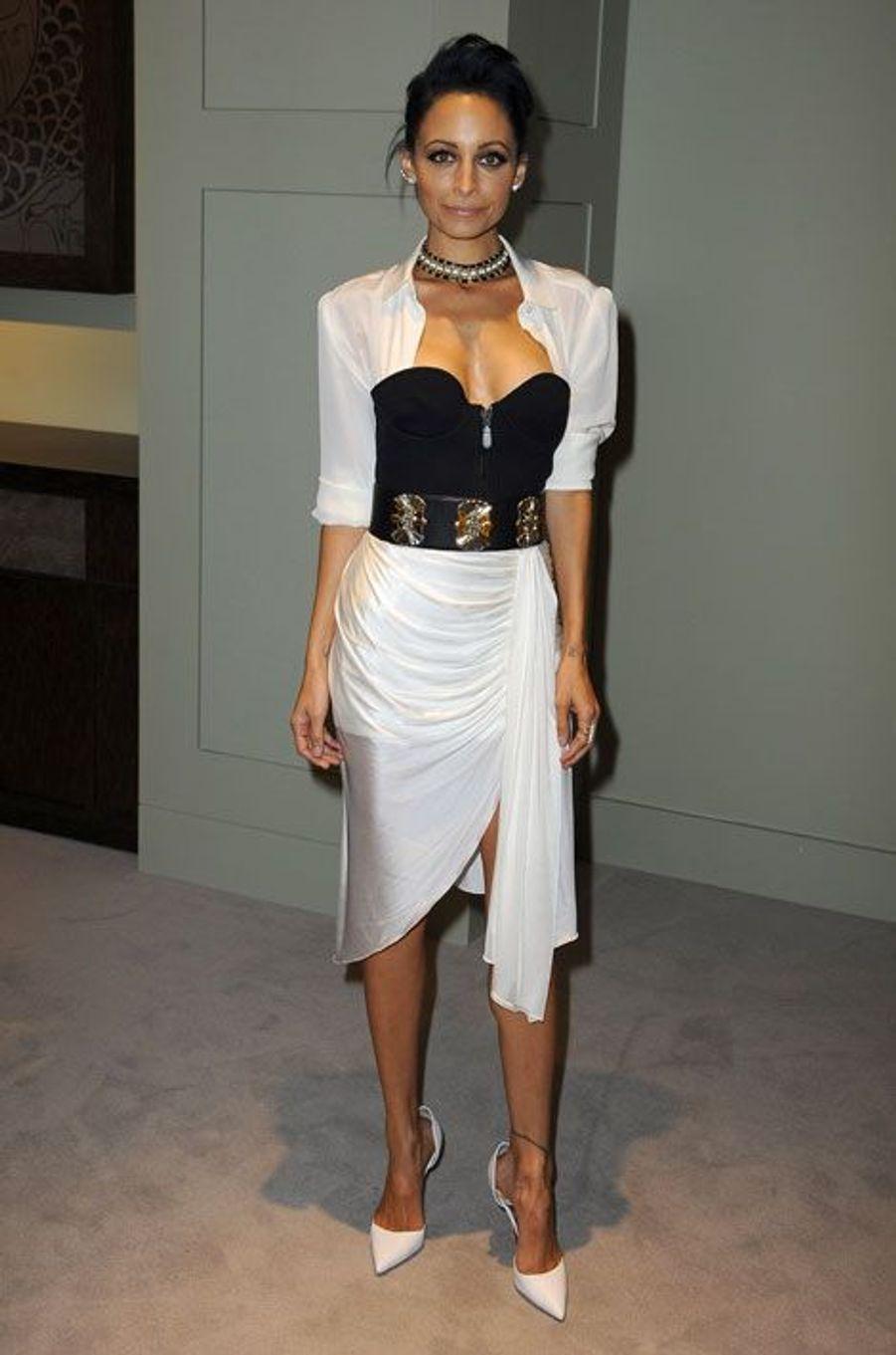 La fille adoptive de Lionel Richie, Nicole Richie, lance sa collection de bijoux à Beverly Hills, le 18 octobre 2014