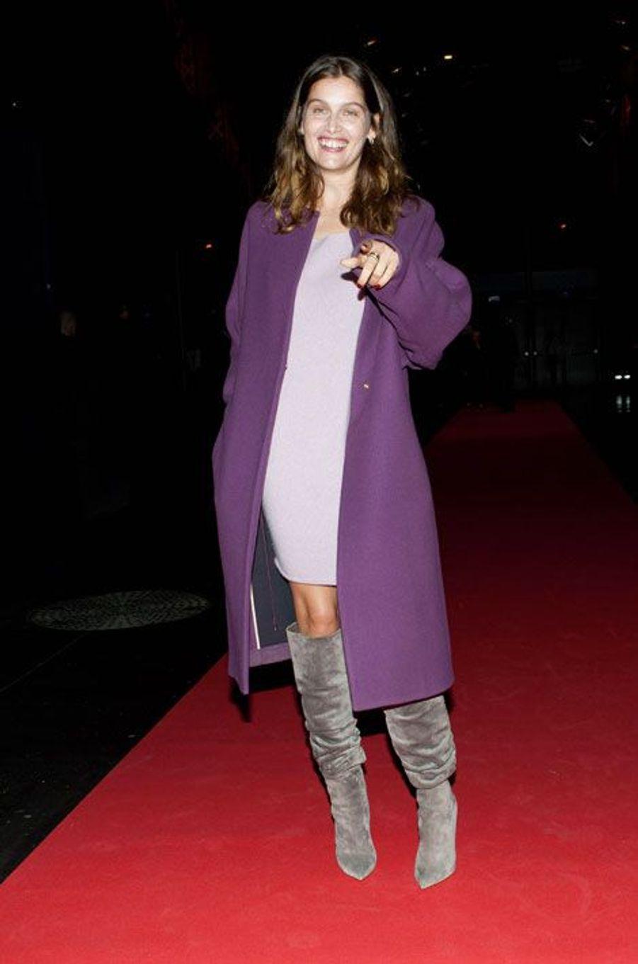 Laetitia Casta à l'ouverture du festival Lumière, le 13 octobre 2014