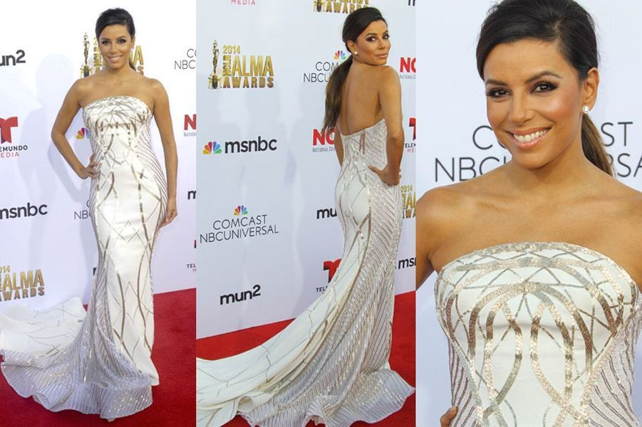Eva Longoria lors de l'édition 2014 de l'ALMA Awards à Los Angeles, le 11 octobre 2014